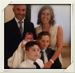 Silvias Family from Italy