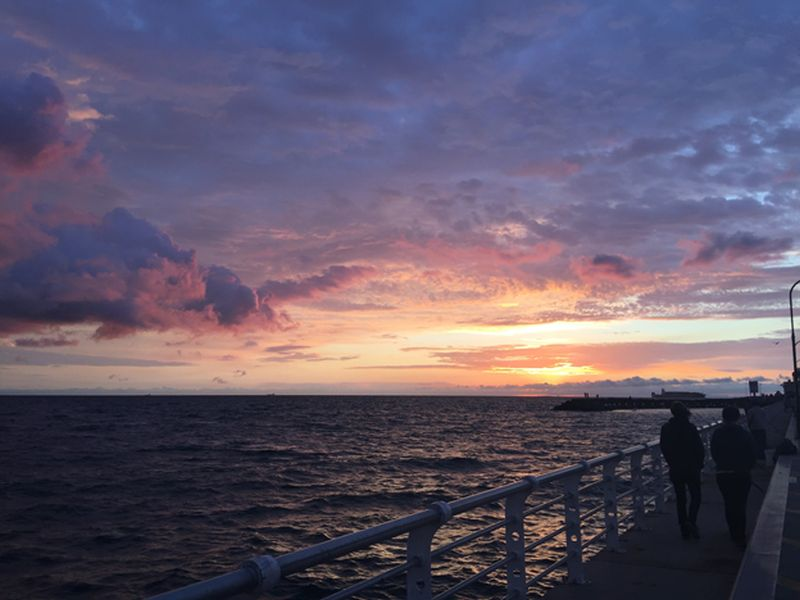 Australian Au Pair Experience Sunset